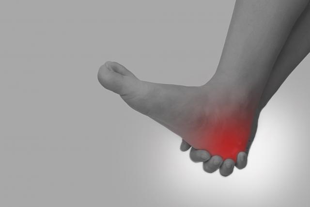 急性の足首の捻挫、当院に来る前に