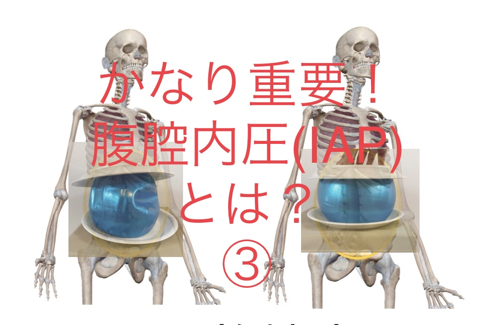 腰痛はIAPを高めないと治りません!③